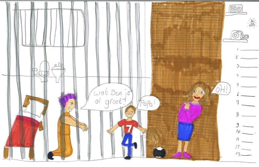 Juni: maand van kinderen van gedetineerden