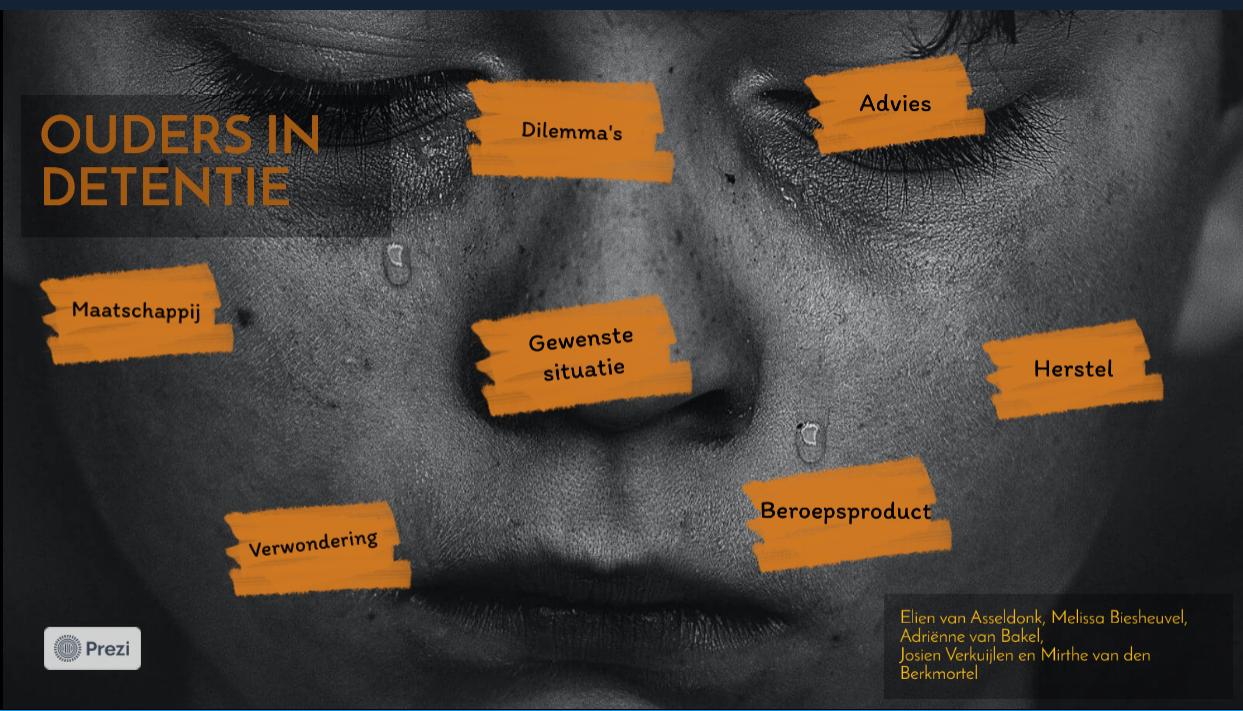 Stigma rondom ouderdetentie